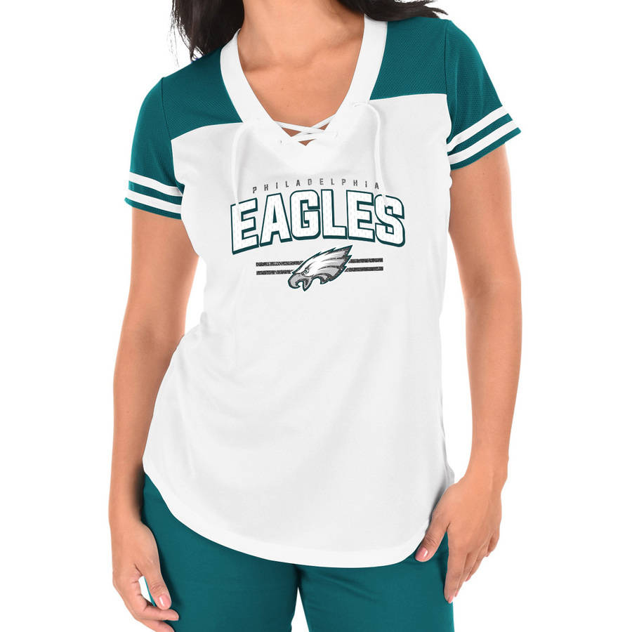 NFL Philadelphia Eagles Plus Size Women's Basic Tee