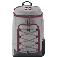 """NCAA Mississippi State Bulldogs """"Competitor"""" Top-Loader Backpack, 19"""" x 7"""" x 12"""" - Heathered Grey"""
