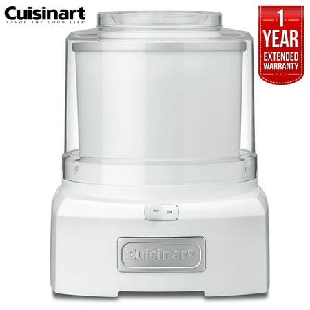 Cuisinart ICE-21FR  Frozen Yogurt-Ice Cream & Sorbet Maker 1.5 Quarts  (Certified Refurbished) with 1 Year Extended Warranty - Frozen Camera