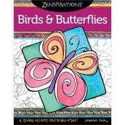 Design Originals-Zenspirations Birds & Butterflies, Pk 1, Design Originals
