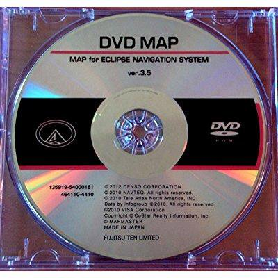 MDV-82D Eclipse Navigation Map Update DVD version 3 5 Disc