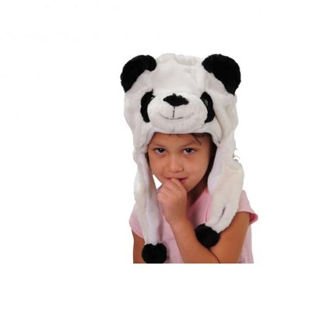US Toy Company H536X9 Panda Hat - 9 per Pack