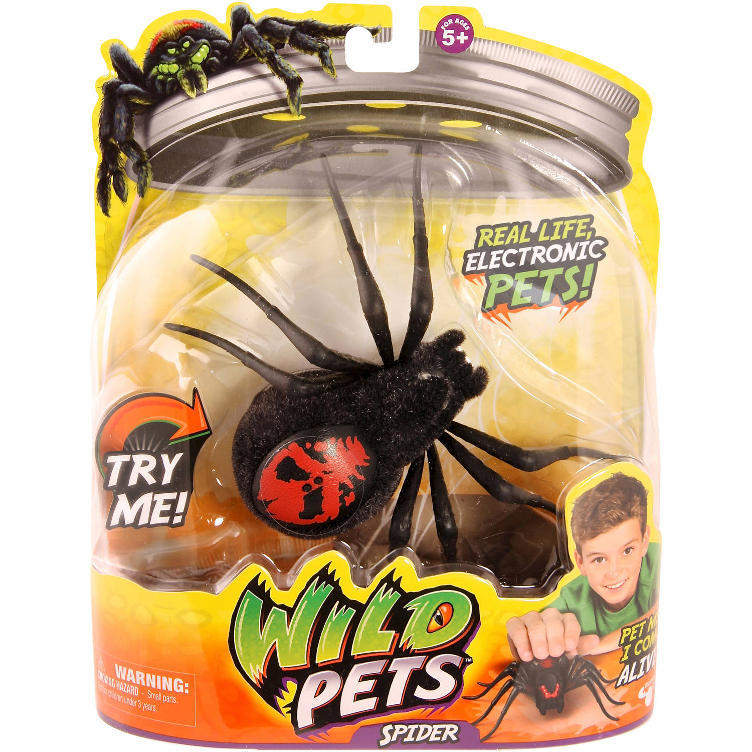 Moose Toys Wild Pets Season 1 Spider Single Pack Creepster