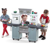 Step2 Cakes & Coffee Play Kitchen and Cafe with 40 Piece Accessory Play Set