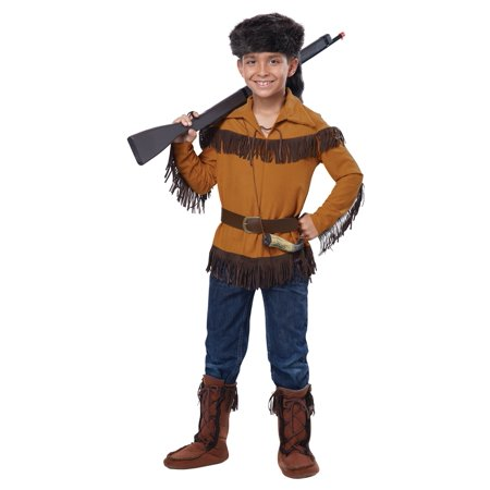Frontier Boy Davy Crockett Child Costume - 40 Costume