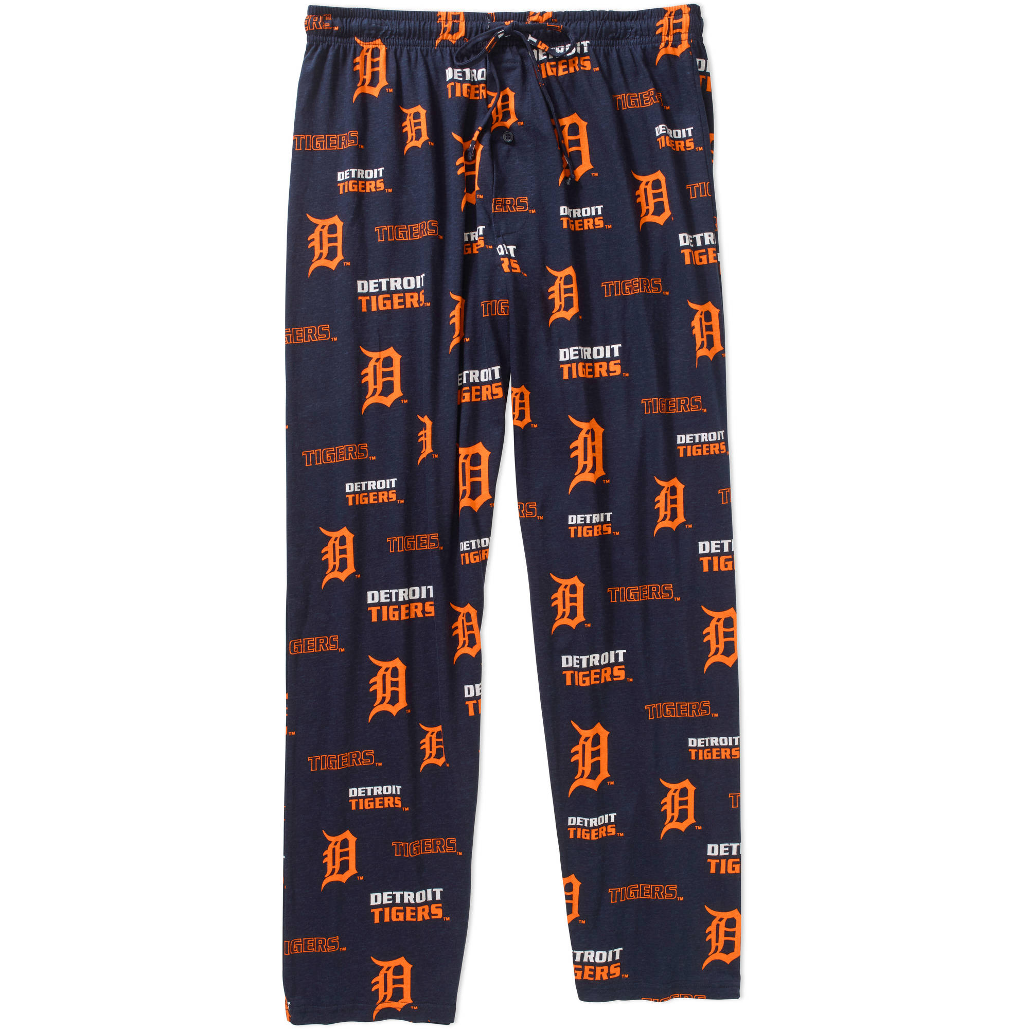 MLB Big Mens Detroit Tigers Knit Sleep Pant, 2XL