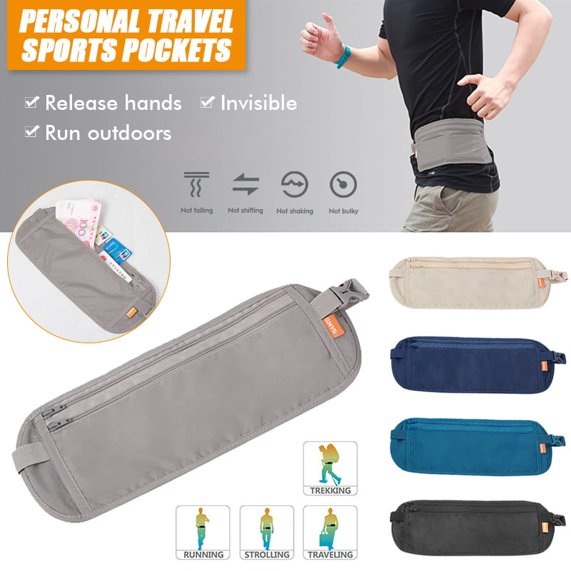 Travel Waist Pack,travel Pocket With Adjustable Belt Beautiful Cats Like Natural Flowers Running Lumbar Pack For Travel Outdoor Sports Walking
