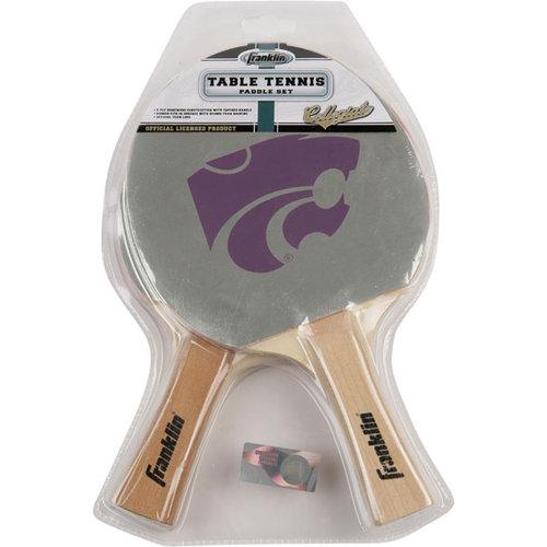 NCAA - Kansas State Wildcats Table Tennis Paddle Set