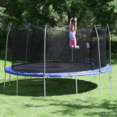 Skywalker 15 Trampoline With Safety Enclosure Reviews: Skywalker 15-ft. Square Trampoline And Enclosure Combo