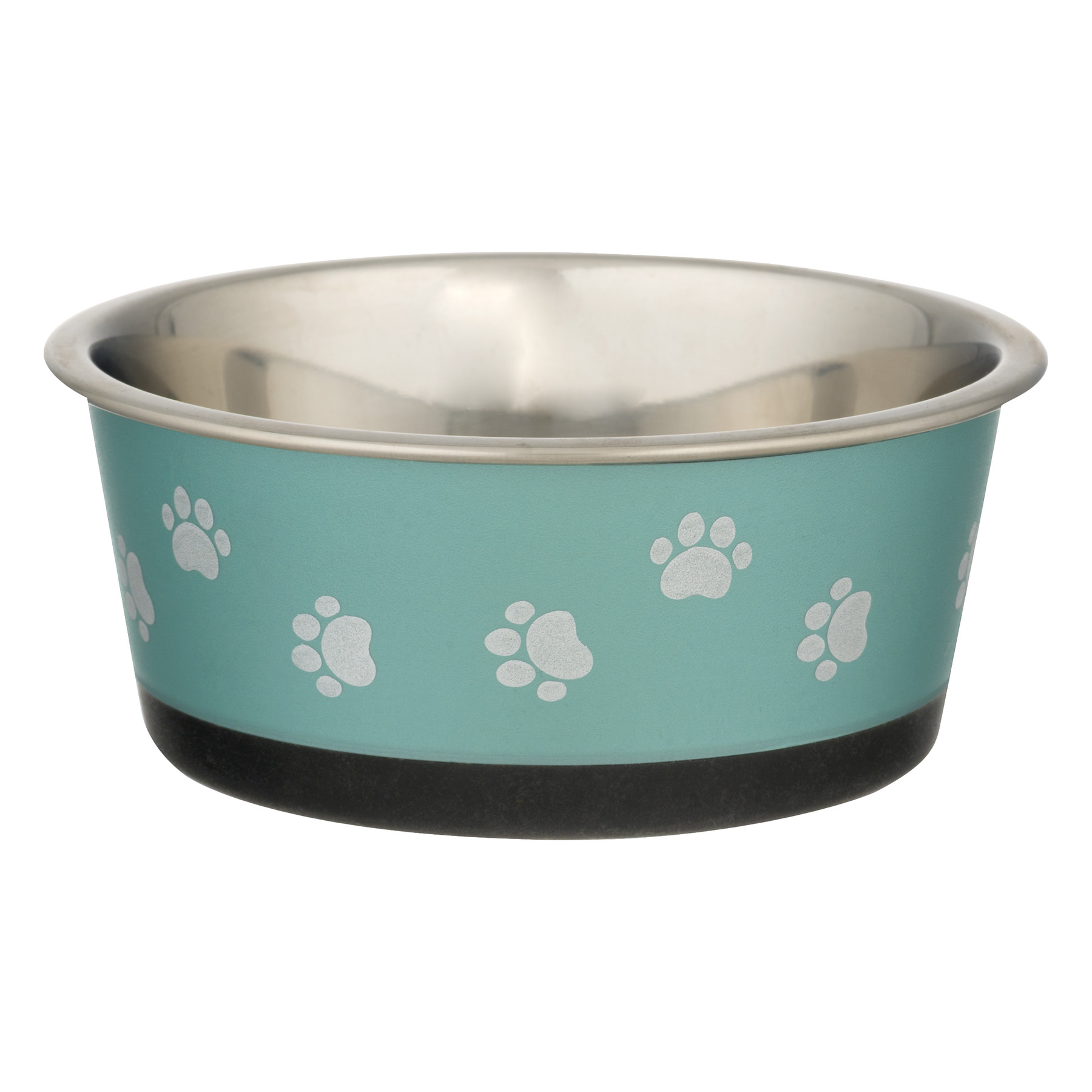 Pet Zone Deluxe Stainless Steel Bowl Small, 1.0 CT