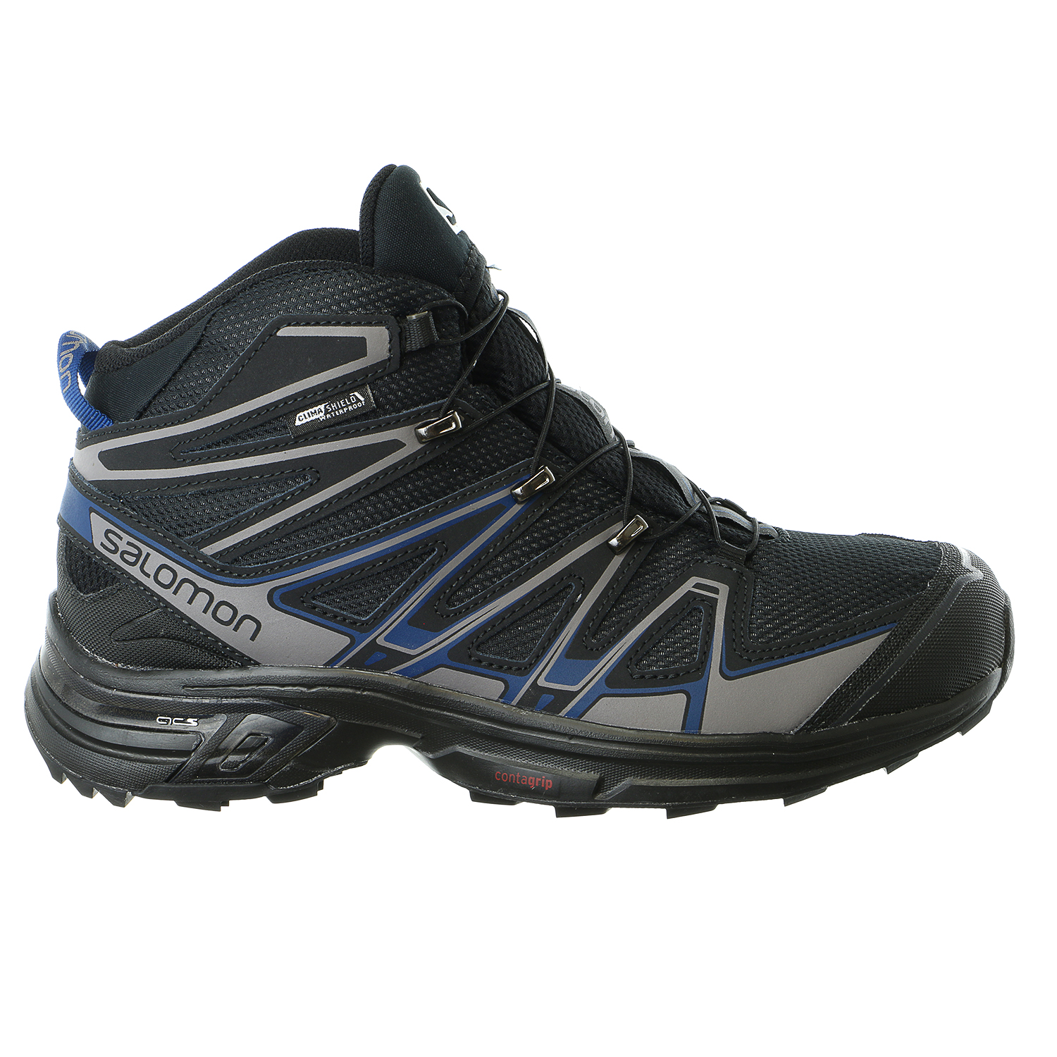 Salomon X-Chase Mid CS WP-M Hiking Boot High Top Sneaker Shoe - Mens