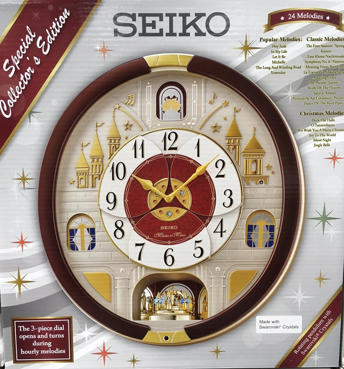 Seiko Special Collectors Edition Melodies In Motion Clock W