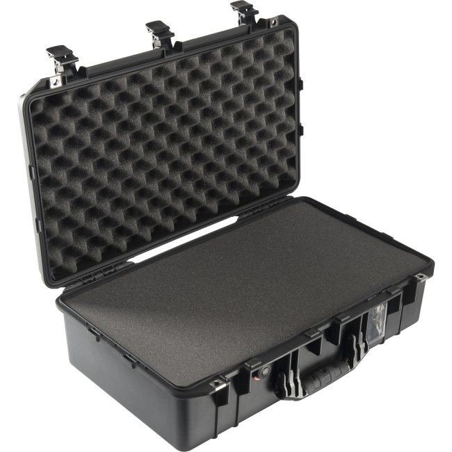Pelican 1555Air Carry-On Case with Pick-N-Pluck Foam (015550-0000-110), Black