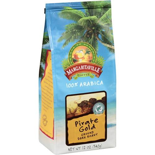 Margaritaville Pirate Gold Ground Coffee, 12 oz