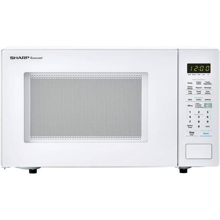 Sharp ZSMC1441CW 1.4 Cu. Ft. Microwave, White