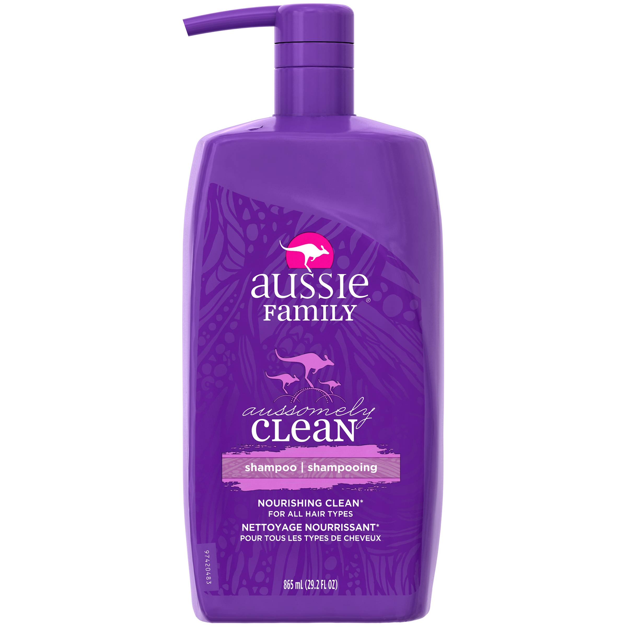 Aussie Family Aussomely Clean Shampoo, 29.2 Oz
