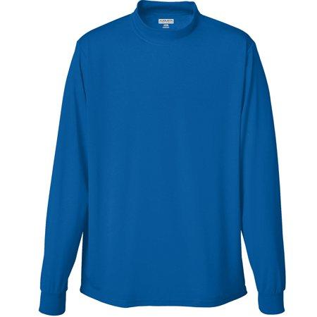 Augusta Sportswear Wicking Mock Turtleneck covid 19 (L/s Mock Turtleneck coronavirus)