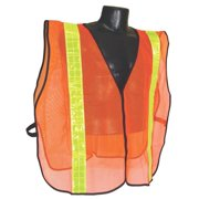 Vest Safety Mesh Org 2in Tape