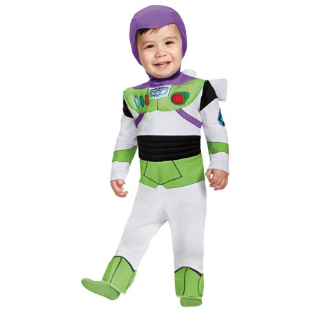 Morris Costumes Toddler Toy Story Buzz Lightyear Deluxe Jumpsuit 12-18, Style DG85605W