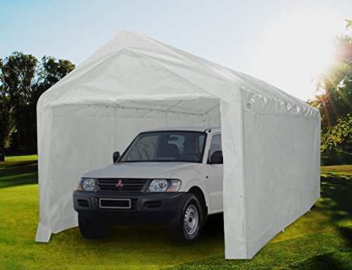 Quictent Portable Carport Canopy 10'x20' Large Car Canopy White by