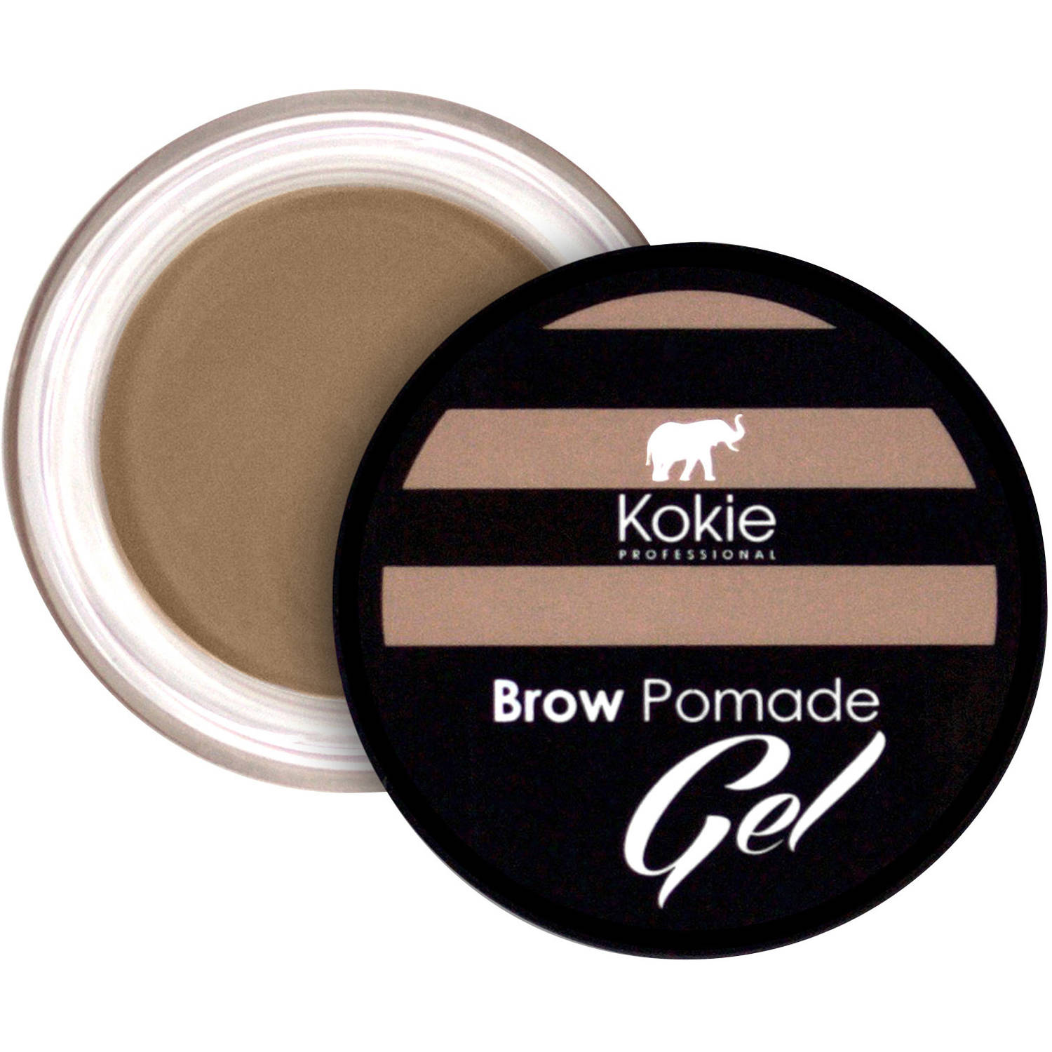 Kokie Professional Brow Pomade Gel, Blonde, 0.13 oz