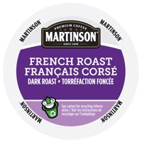 Martinson Single Serve Coffee Capsules, French Roast, 24 Count