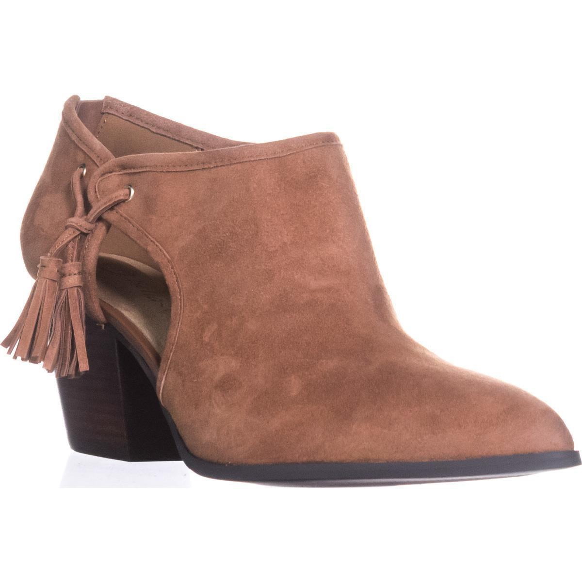 Womens Bella Vita Eli Pointed Toe Ankle Booties, Dark Tan by Bella Vita