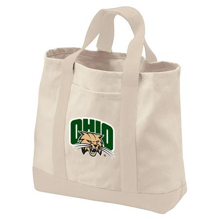 Ohio Canvas Tote (Ohio University Tote Bag or CANVAS Ohio University Shopping Bag TRAVEL BEACH SHOPPING)