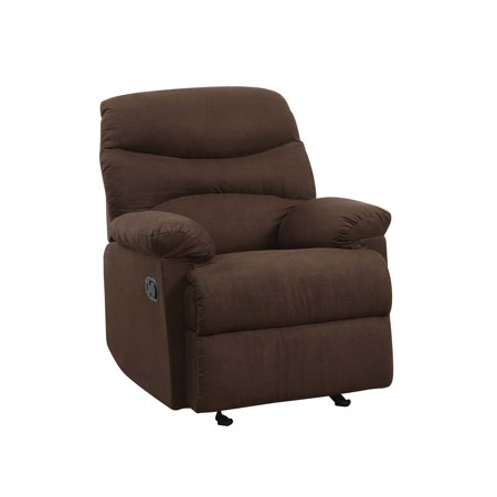 Oakwood Microfiber Recliner, Chocolate ()