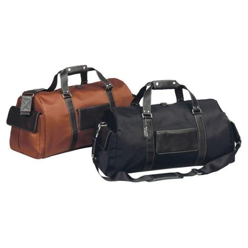 Bellino  Vintage Laywer Executive Boss 22-inch Carry On Leather Duffel Bag