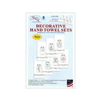 Jack Dempsey Dec Hand Towel 7pc Holidays of Week