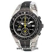 Tech Gear Flight Computer Chronograph Black Dial Watch - PF3183