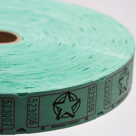 Green Star Ticket Roll
