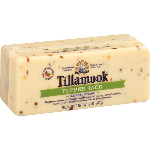 Tillamook Pepper Jack Cheese, 2 lb