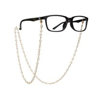 78b12254ca7 Product Image Imitation Pearls Bead Eyeglass Chain Glasses Strap Cords  Sunglass Holder Lanyard Necklace