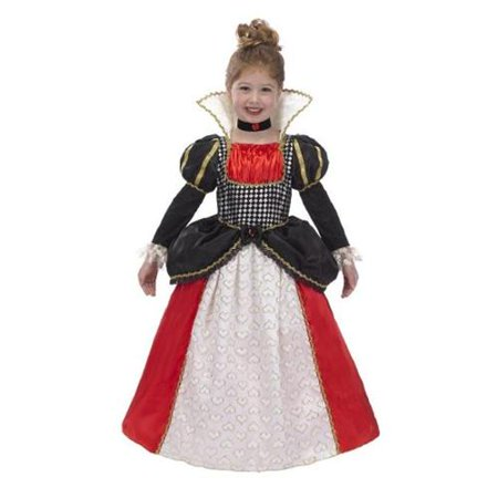Just Pretend Kids JPEGR-QUE-HRT-04 Queen of Hearts Hoop and Choker Costume - Small, 4