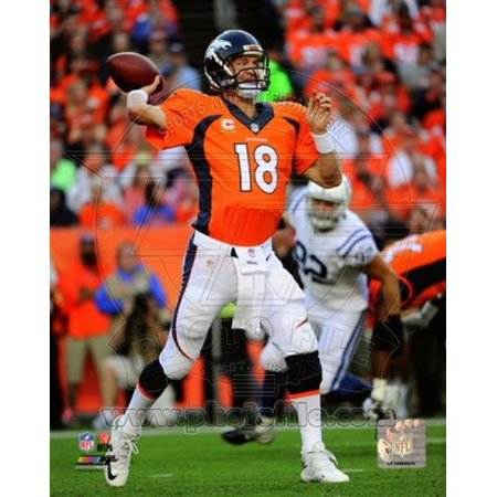Peyton Manning 2014 Action Sports Photo
