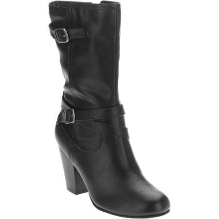 Faded Glory Women's Slouch Dress Boot