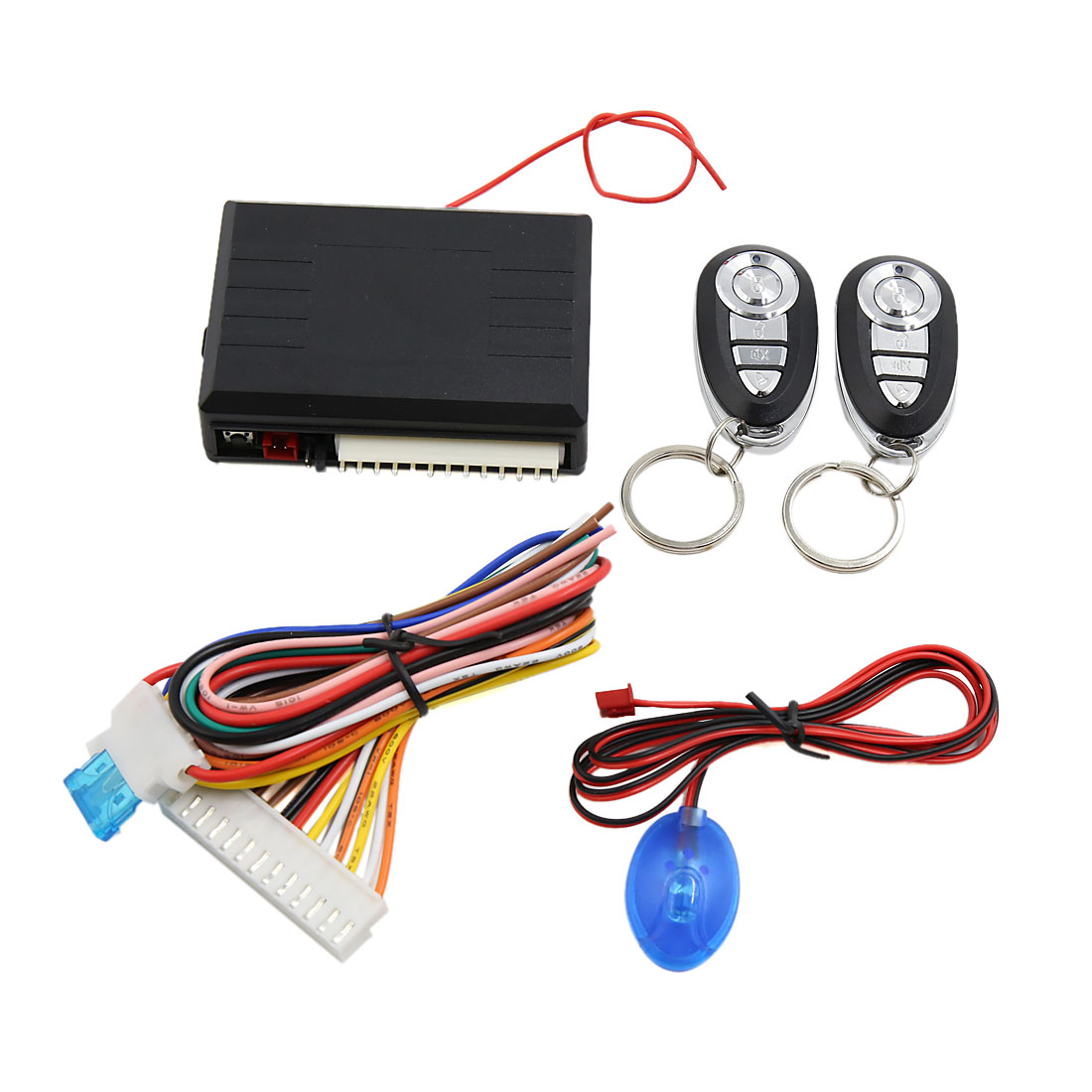 Car Remote Central Kit Door Lock Locking Keyless Entry Alarm System 12V