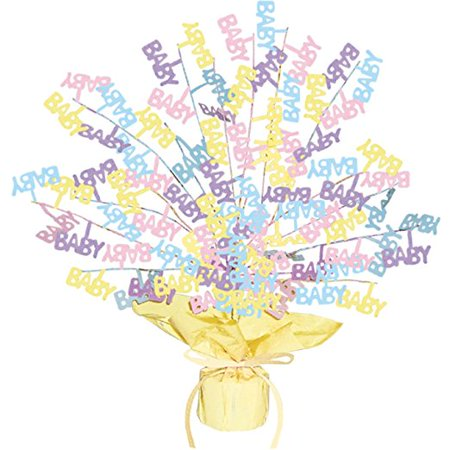Baby Shower Gleam 'N Burst Centerpiece Party Accessory (1 count) (1/Pkg) - Baby Shower Accesories