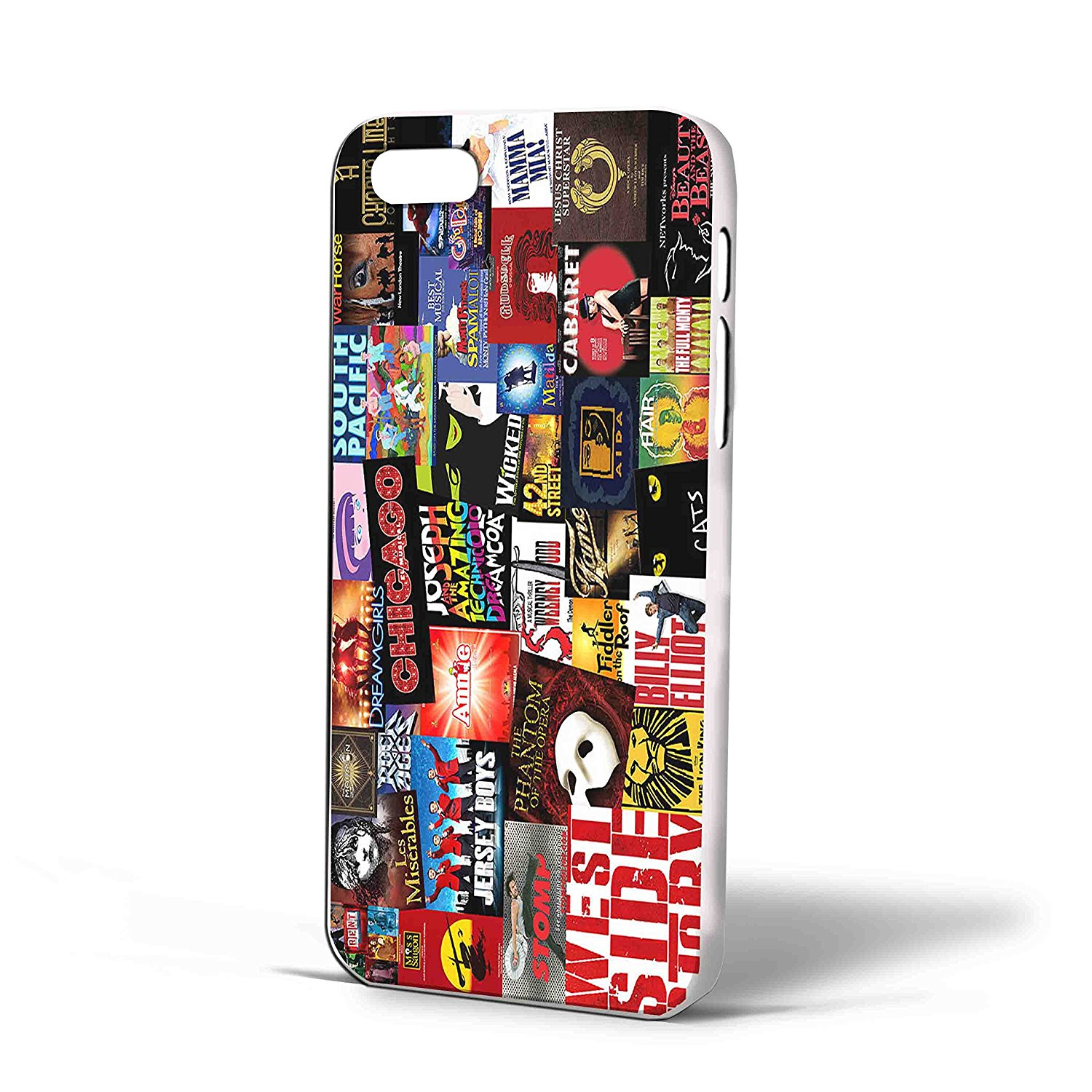 Ganma Broadway Icon Fan Art Collage Case For iPhone Case (Case For iPhone 6 White)