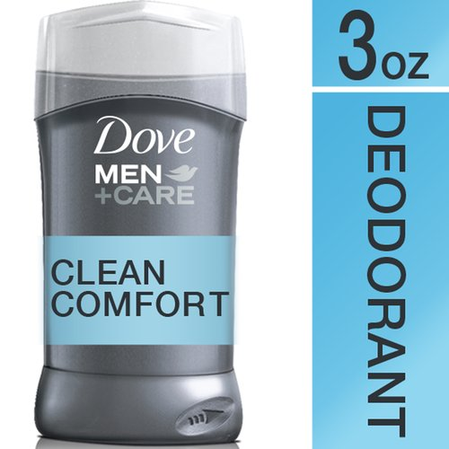 Dove Men+Care Clean Comfort Deodorant, 3.0 oz