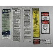 LOUISVILLE PK-FS1400HD Label Kit