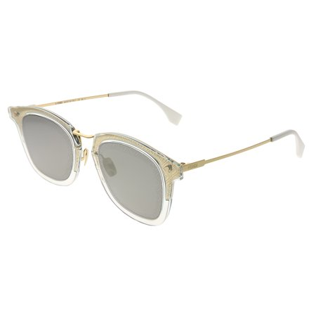 Fendi Men FF FF M0045 J5G UE Unisex Square Sunglasses