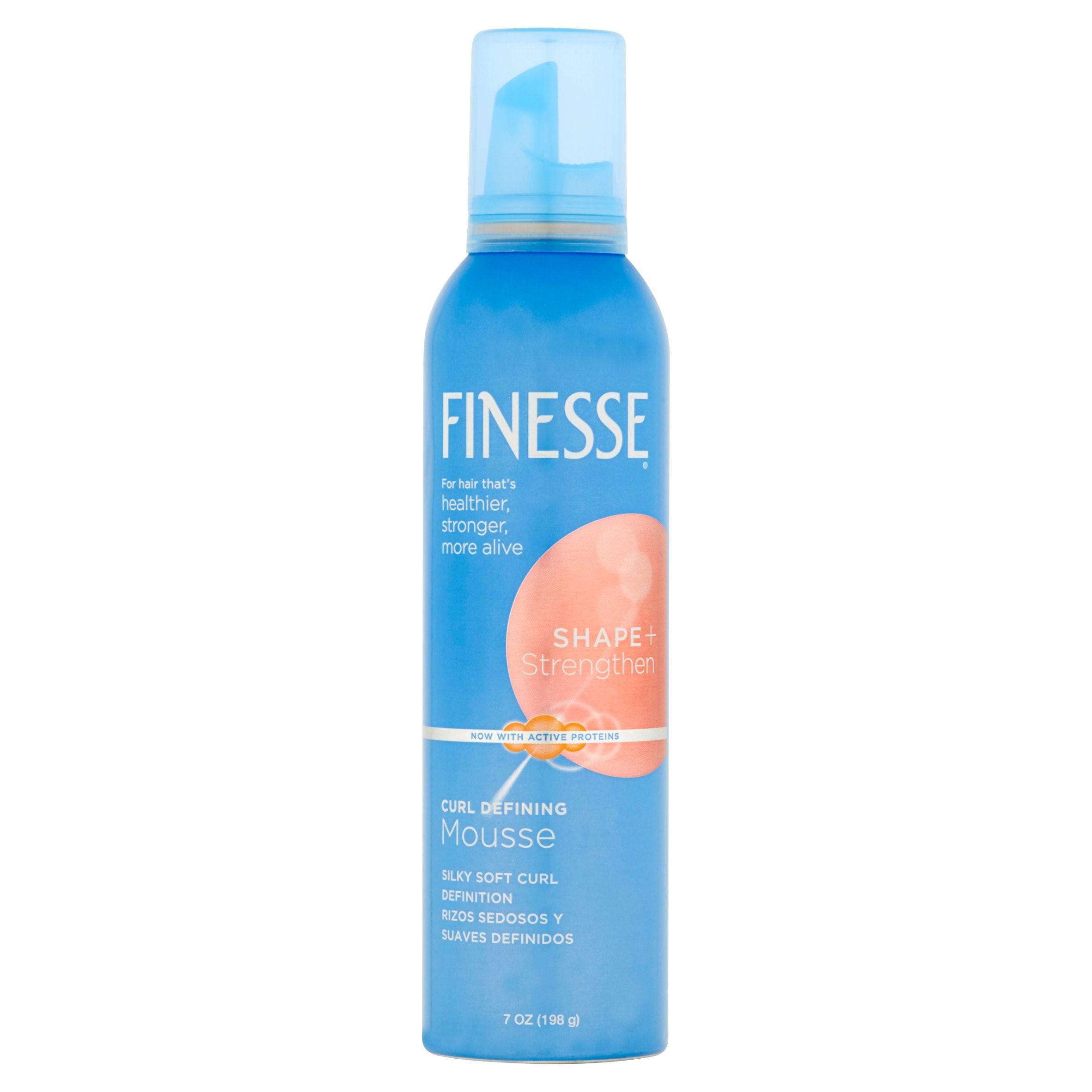 Finesse Shape + Strengthen Curl Defining Mousse, 7 Oz