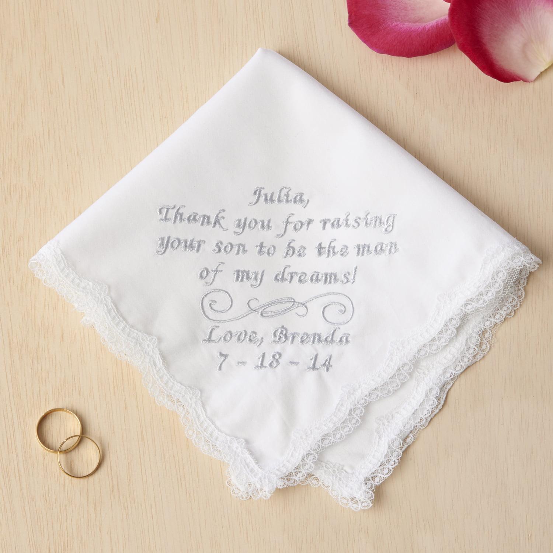 Wedding Gifts At Walmart: Personalized Wedding Handkerchief