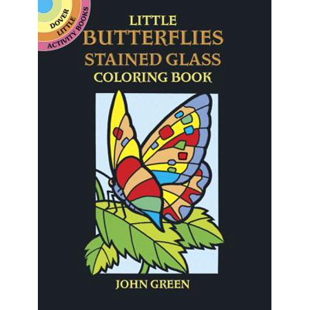 Little Butterflies Stained Glass Coloring Book ()