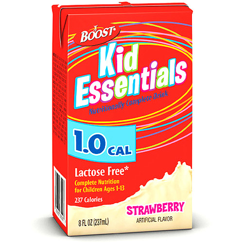 Boost Kid Essentials Nutritionally Complete Drink Strw 27x237ml