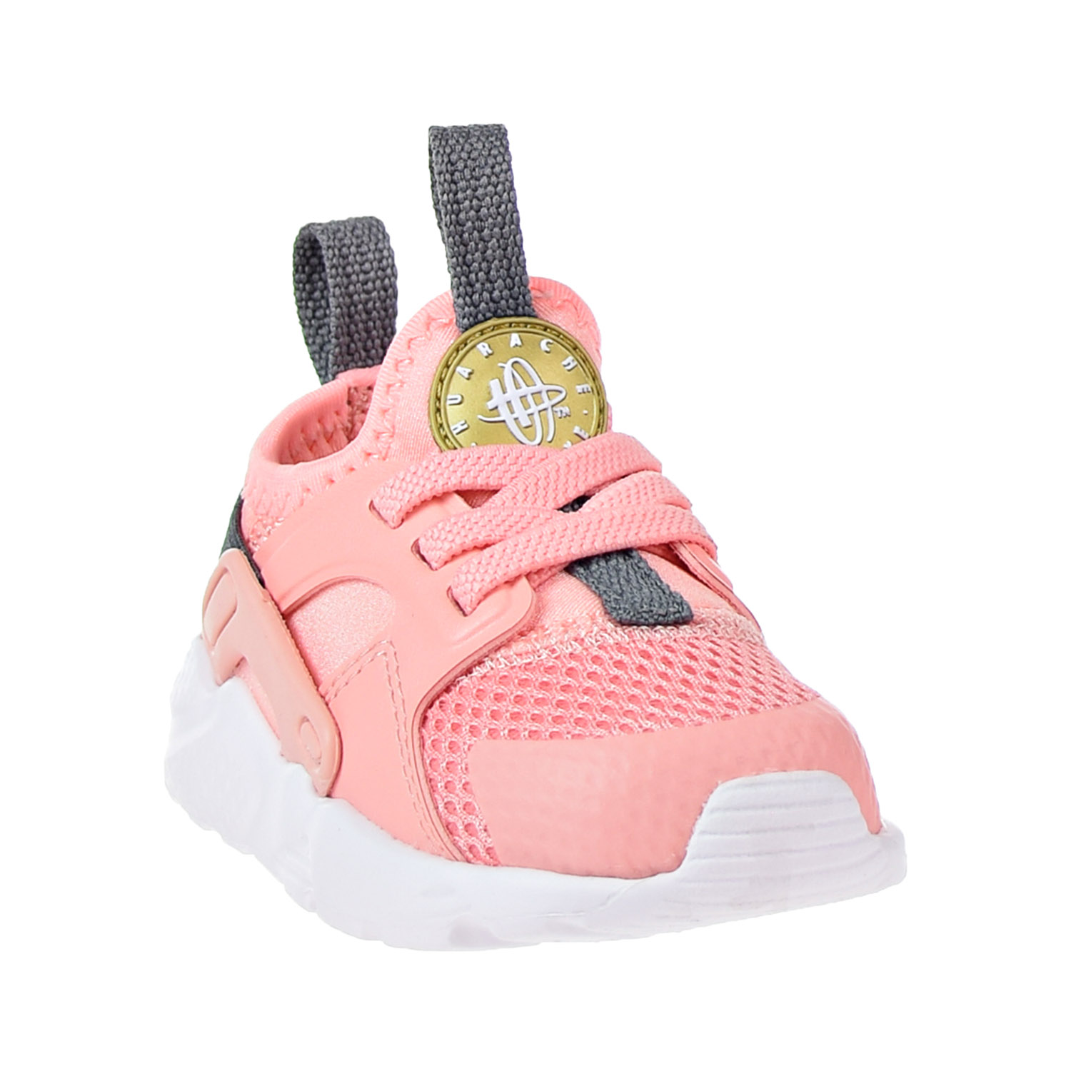 87dda1dfa2e44 ... coupon code for nike huarache run ultra little kids shoes bleached  coral metallic gold 859595 600