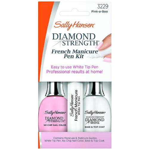 Sally Hansen Diamond Strength French Manicure Pen Kit, Pink-A-Boo [3229] 1 ea (Pack of 2)